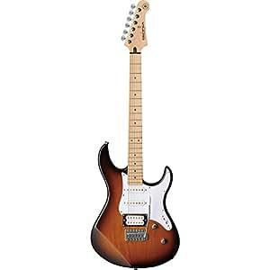 Guitares électriques YAMAHA PACIFICA GPA112VMTBS TOBACCO BROWN SUNBURST Stratocaster