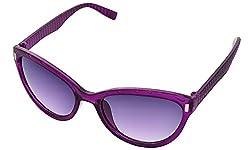 SHVAS UV Protection Cat Eye Womens Sunglasses [CATESTEEMPURP]