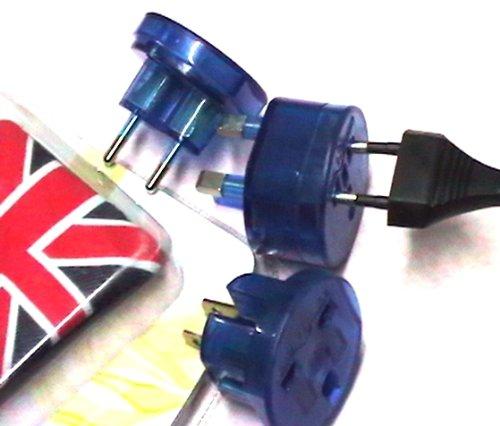 Prodigital ®-Adaptador universal de viaje con toma de pared para cuna inglesas, Estados unidos, etc.