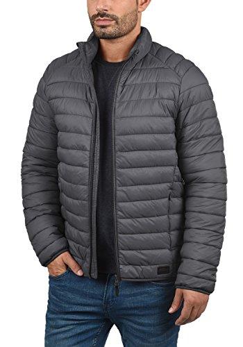 Blend Nils Herren Steppjacke Übergangsjacke Jacke Mit Stehkragen, Größe:S, Farbe:Ebony Grey (75111) - 3