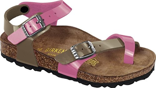 Birkenstock , Tongs pour fille ROSE/FOSSIL