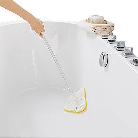 Brosse de nettoyage rétractable à longue poignée, BAFFECT® brosse souple