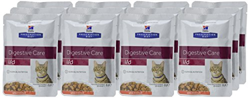 Hill Prescription Feline i/d Pouches 12 x 85g 2