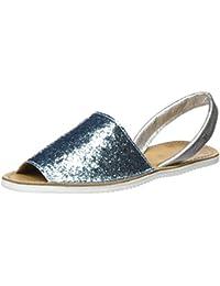 Womens Abarca Glitter Open Toe Sandals Cupl ZbbCSLa9Sd