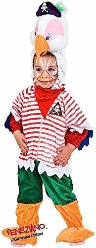 Fancy Me Italienische Herstellung Baby Kleinkind Jungen Mädchen Piraten Papagei Halloween Karneval Kostüm Kleid Outfit 12-36 Monate - 3 Years
