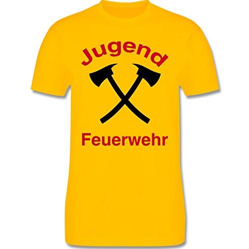 Feuerwehr - Jugend Feuerwehr - Herren Premium T-Shirt Gelb