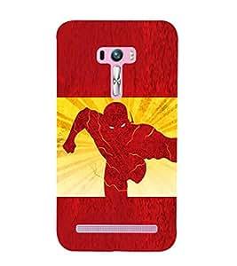 EPICCASE The Flash Mobile Back Case Cover For Asus Zenfone Selfie (Designer Case)
