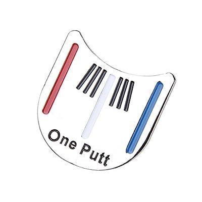 Golf Putten Ausrichtung Werkzeug