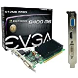 EVGA GF 8400GS 512M Passive Grafikkarte NVIDIA GeForce 8400GS 520MHz PCI-Express 16x 512MB