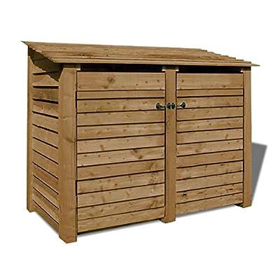 Cottesmore Wooden Log Store/Garden Storage Heavy Duty Pressure Treated Wood
