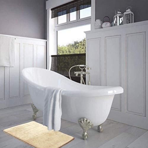 Seba5 Home Schaumbad Badematte Bad Dusche Teppich rutschfeste rutschfeste Bad Matten, luxuriöse saugfähige weichen Speicher -