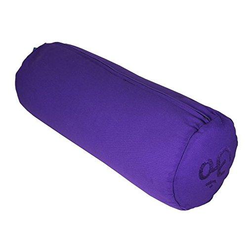 Cuscino Cilindrico Per Yoga.Yoga Mad Om Cuscino Cilindrico Con Imbottitura In Grano