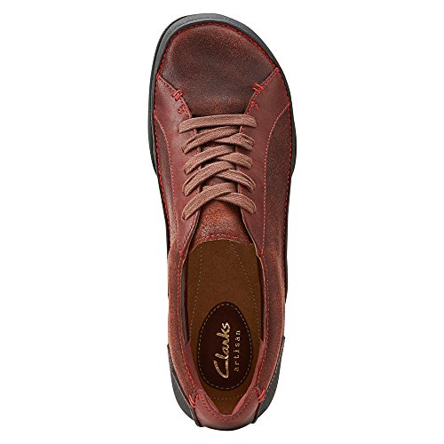 Clarks Felicia Alice Oxford Burgundy