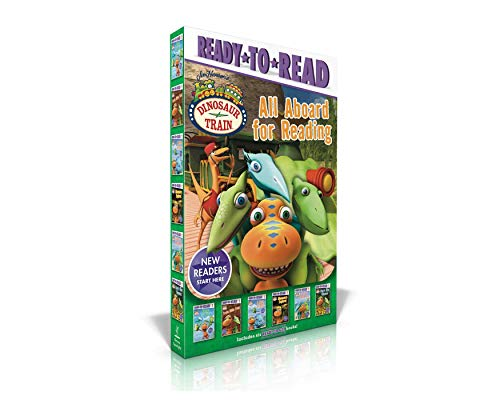 All Aboard for Reading: Buddy and Pals / Train Ride Fun / a New Friend / Dinosaurs Explore! / Dinosaur Family Trip / Tiny's New Flowers (Dinosaur Train)