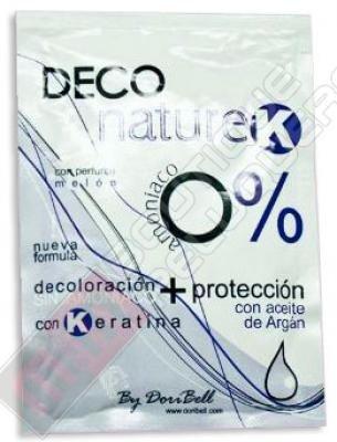Decolorante Deco Nature-K 0% Amoniaco Sobre 40 gr. (1)