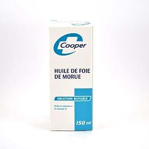 Cooper-Huile De Foie De Morue, Cooper, 150 ml