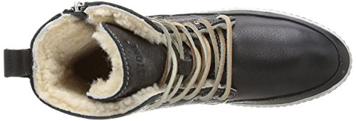 Blackstone LAOS TOWN CW96 Damen Chukka Boots Schwarz (Black)