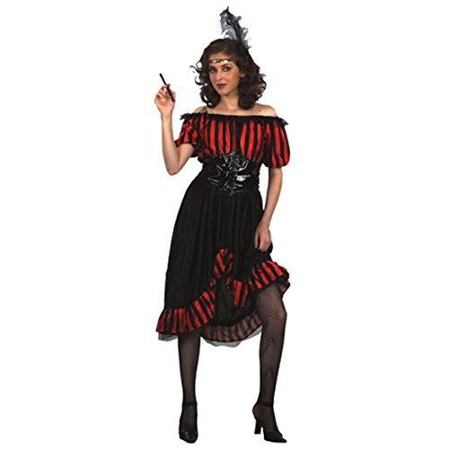 Kostüm Saloon Lady Gr. 38-40 Wilder Westen Western Kleid Faschingskostüm