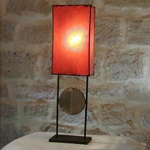 Nuits d'orient - DEC1011015 - Lampe PONG - Orange