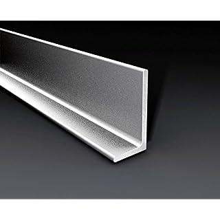 Aluminium Angle mm.30x 30x 10H.200Chrome (Pack of 5) [Arcansas]