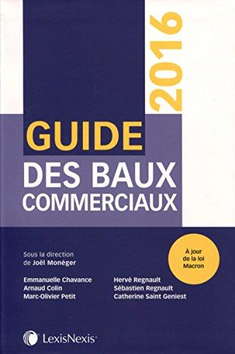 Guide des baux commerciaux