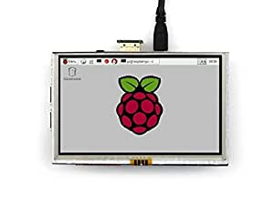 Waveshare Raspberry Pi LCD Display Module 5inch 800*480 TFT Resistive Touch Screen Panel HDMI Interface for Any Model of Rapsberry-pi A/A+/B/B+/2 B