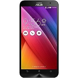 Asus ZenFone 2 Smartphone débloqué 4G ZE551ML (5.5 pouces - 32 Go - Double SIM - Android 5.0 Lollipop) Noir (import Italie)