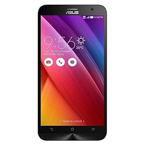 """Asus Zenfone 2 (ZE551ML) - Smartphone libre Android (pantalla 5.5"""", cámara 13 Mp, 32 GB, Quad-Core 2.3 GHz, 4 GB RAM, dual SIM), negro"""