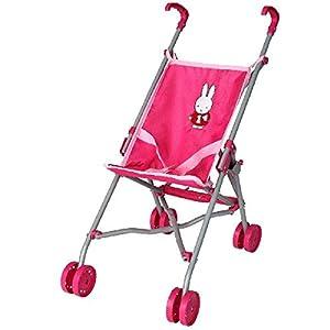 TIAMO - 376550 - Muñeca Cochecito Rosa para - Conejo Miffy - Accesorio Poupon