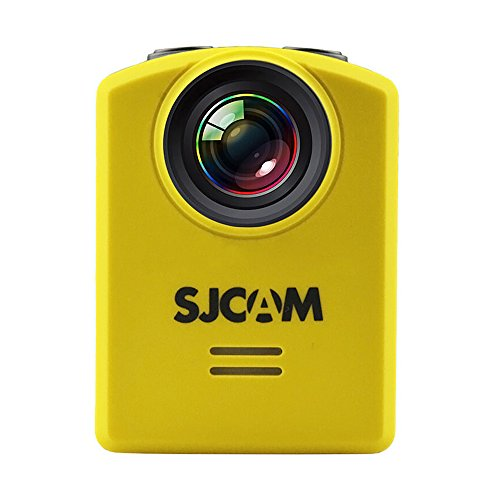 Fodsports Original SJCAM M20 Wifi 30M Waterproof Sports Action Camera Sj Cam DV+2 Extra Battery+Dual Charger(Black) (Yellow)