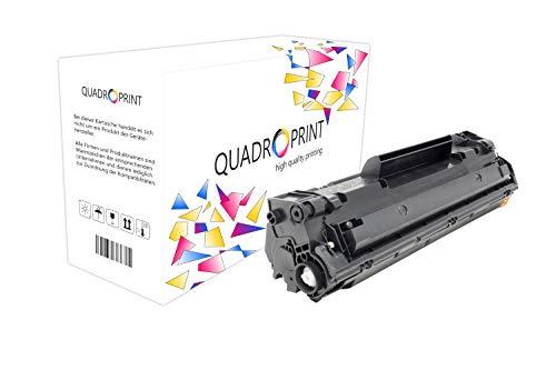 QUADROPRINT Toner ersetzt Canon 728 3500B002 Schwarz, ca. 2.100 Seiten, für Canon Fax L 150 170 410, I-Sensys Fax L 150 170, I-Sensys MF 4400 4410 4430 4450 4500 4550 4570 4580 4700 4730 4750 4770 4