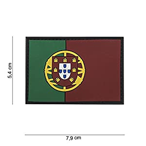 Patch 3D PVC Drapeau Portugal / Cosplay / Airsoft / Camouflage