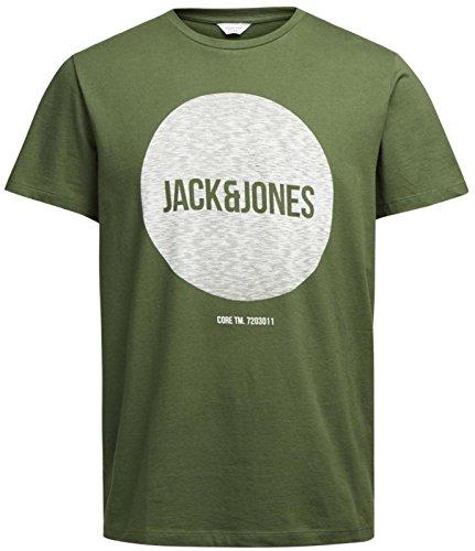 Jack & Jones Herren T-Shirt Olivgrün