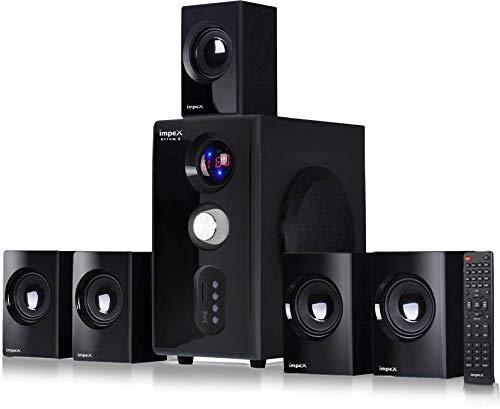 Impex 5.1 Rhythm B 45 W Multimedia Bluetooth Speaker System (Black)