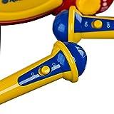 Roadstar KID-55CD Kinder CD-Spieler mit 2 Mikrofonen und Karaoke-Funktion (tragbar, Batterie-Betrieb, Kopfhörer-Anschluss, 10 Watt Musikleistung) - 6