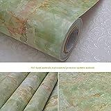 TT&CC Marmor-Kontakt Papier küche Wohnzimmer Self Adhesive Vinyl Öl Beweis Badezimmer tapeten Granit Wasserdicht Marmor dekorpapier-D 60x500cm(24x197inch)