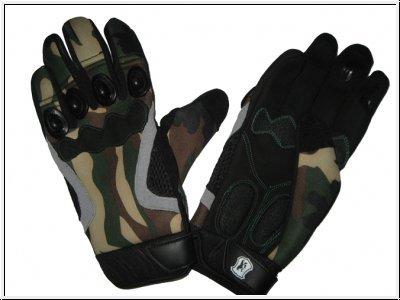 Paintball Handschuhe - woodland tarn, Größe XL zu McPaintball
