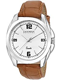Laurels Diplomat Analog White Dial Men's Watch - Lo-Dip-301
