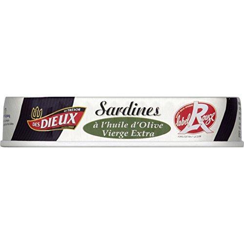 Sardines à l'huile d'olive vierge extra Label Rouge - ( Prix Unitaire ) - Envoi Rapide Et Soignée