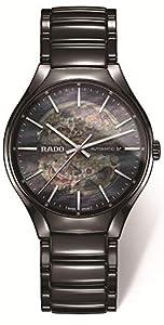 Rado Men's True 40.1mm Black Ceramic Band & Case Automatic Watch R27100912