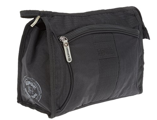 Elephant Kulturtasche Black 5010 Washbag Kulturbeutel Schwarz + Beutel -