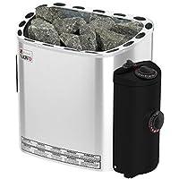 Sauna Poêle Électrique SAWO SCANDIA, Gamme de puissance: 4,5 kW; 6,0 kW; 8,0 kW; 9,0 kW; avec unité de contrôle intégrée…
