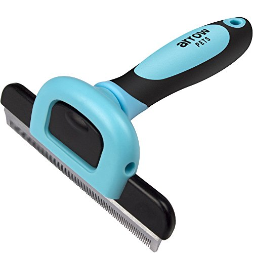 deshedding-tool-and-pet-grooming-brush-by-arrow-pets-for-short-and-long-haired-cats-and-dogs-small-m