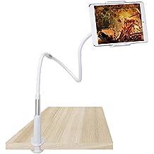 Elitehood iPad Soporte para Tablet Móviles 360 Ajustable Giratorio Multi-Ángulo Flexible Universal para Cama Tableta Phone