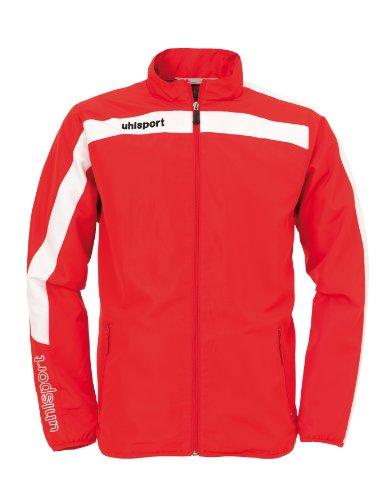 uhlsport Bekleidung Liga Präsentationsjacke, Rot/Weiß, L, 100512801 (Neue Herren Union-anzug)