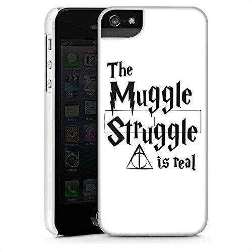 Apple iPhone 8 Hülle Case Handyhülle Harry Potter Muggle Struggle Statement Premium Case StandUp