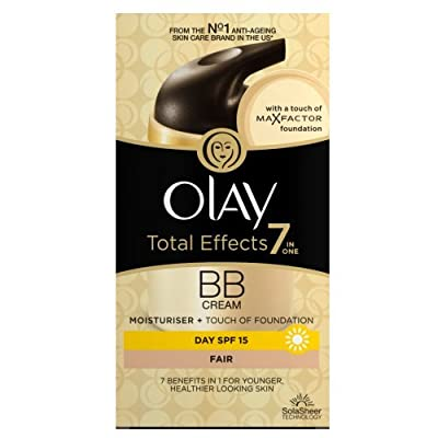 Olay Total Effects 7-in-1 Touch of Foundation BB Fair Moisturiser, 50ml