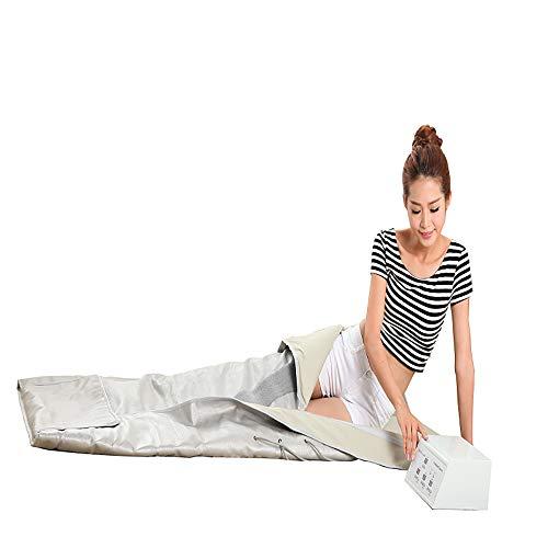 JERKEY Far Infrared Sauna Decke Gesundheit Physiotherapie Family Stream Room Sanddorn Säure Decke 3-Stufen-Temperaturregelung Heizdecke Körperformung Drainage -