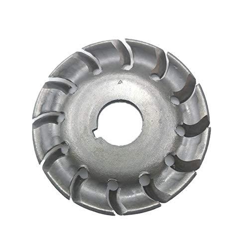 Schildeng Winkelschleiferscheibe - Durchmesser 65mm, 12 Zähne 16 mm Lochformung Polierscheibe Trennscheibe für Winkelschleifer - Ideale Trennscheibe Holz - Zubehör für Winkelschleifer