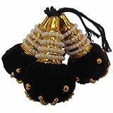 #8: Pooja Trendz Indian Traditional Hair Kunjalam/Jada kupullu/Dance Hair Accessories.
